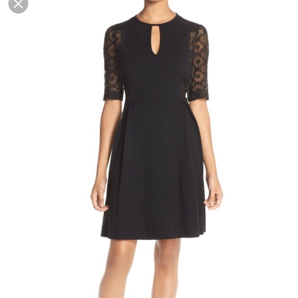 French Connection Dresses & Skirts - French Connection black lace dress Sz 4 NWT